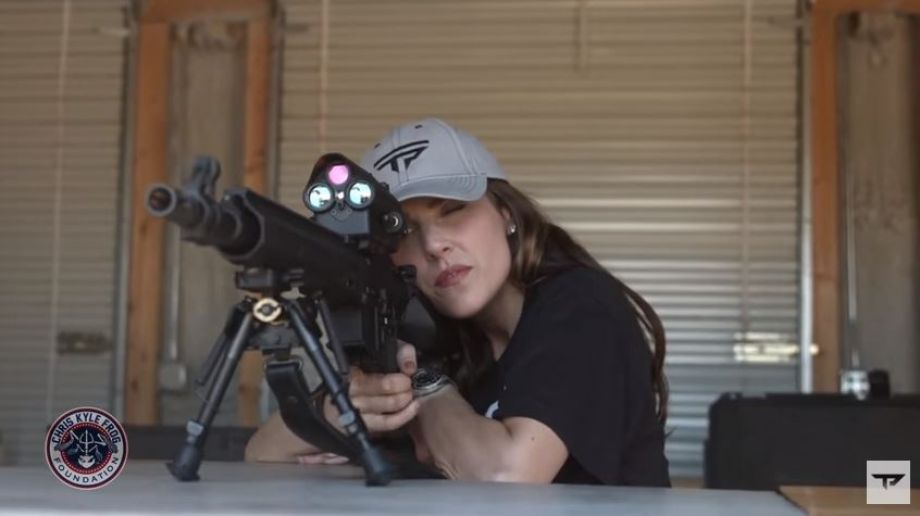 Taya Kyle Beats NRA Champ In Fundraising Competition