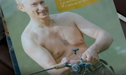 Vladimir Putin calendar:  Russian President Goes Topless