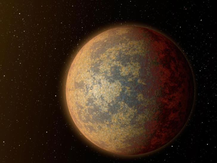 An artist's impression of an exoplanet with the potential to support life NASA/JPL-Caltech