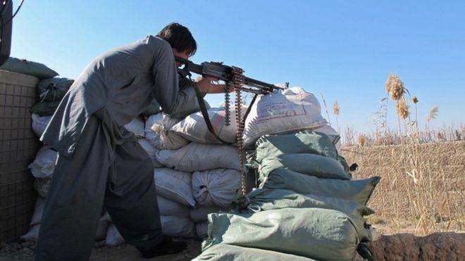 Afghan police officers killed