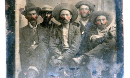 Billy the Kid flea market photo could be Big Bucks
