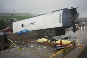 Bus crash Hwy 101