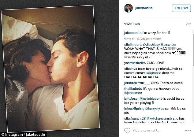 Jake T. Austin Dating Superfan Off Twitter