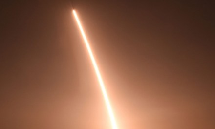 California ICBM test:  Pentagon Sends Missile To Space