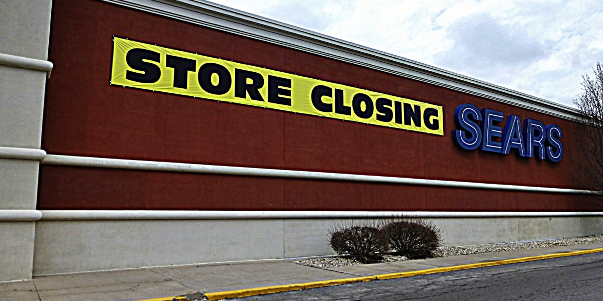 Image result for Department Store Closing