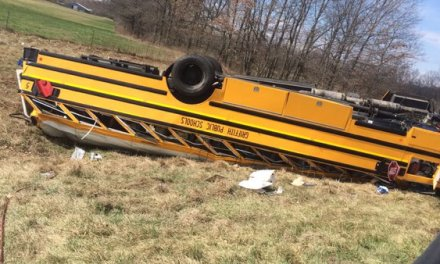 Team Bus Flips, Everyone Sent To Hospital, Game Postponed