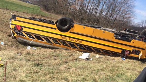 Team Bus Flips, Everyone Sent To Hospital, Game Postponed