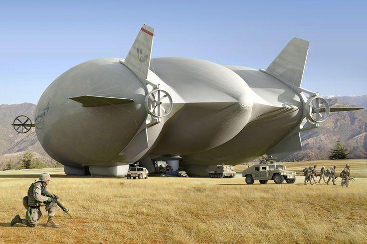 Lockheed Martin hybrid airship