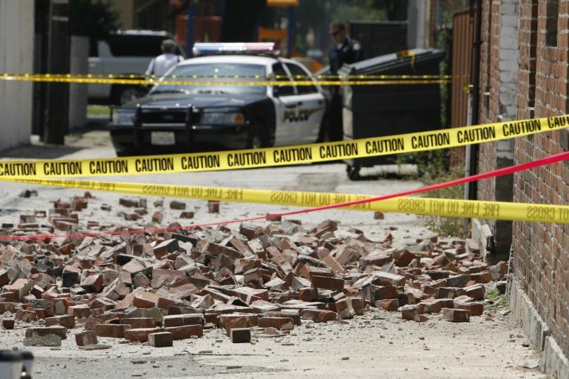 Manmade earthquake report