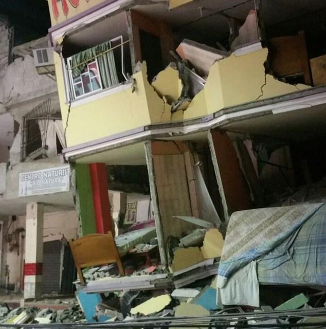 Ecuador Earthquake:  7.8 magnitude Death Toll Rises To 272 UPDATE