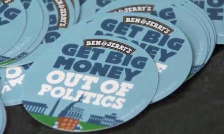Ben Jerry new flavor gets all political