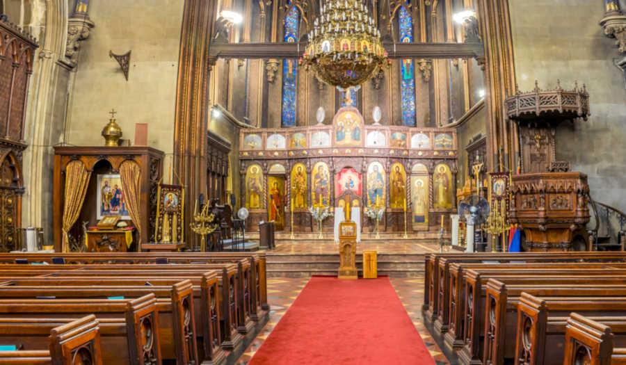 Church fire Manhattan