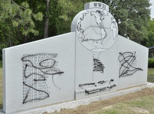 Vietnam War memorial defaced in multiple states