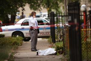 Weekend shootings in Chicago