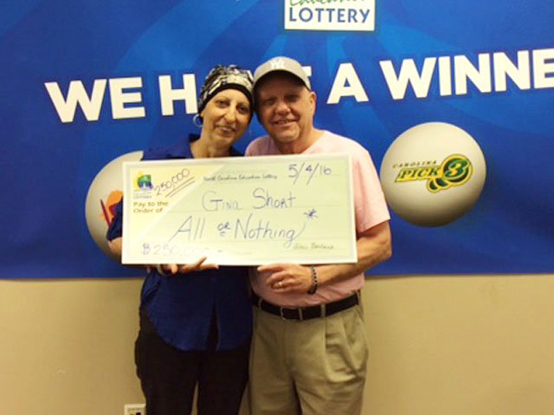 """We're still in disbelief"" Woman Fighting Cancer Wins  Lottery Twice"