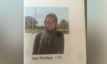 Yearbook student wearing hijab with  'Isis' label Sparks Outrage