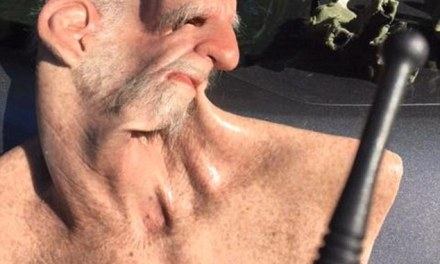 Shaun Miller Fugitive Disguised As Old man (PHOTO0