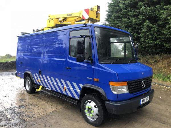 Mercedes Vario 816D for Sale - DC Commercials UK Ltd