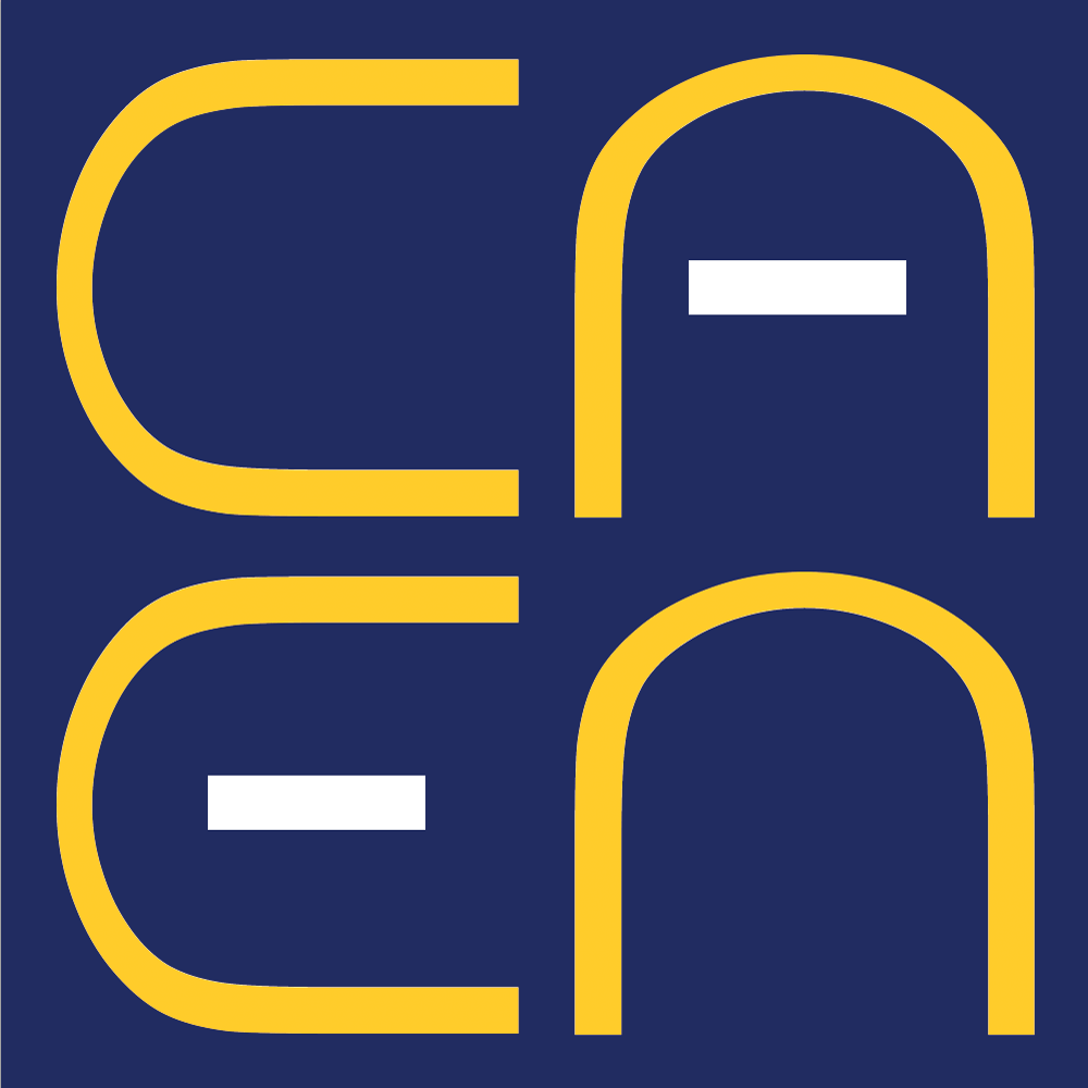 A graphic of the CAEN logo