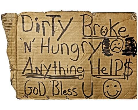 dirty broke hungry