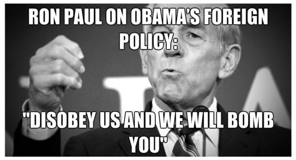 ron paul obama foreign policy