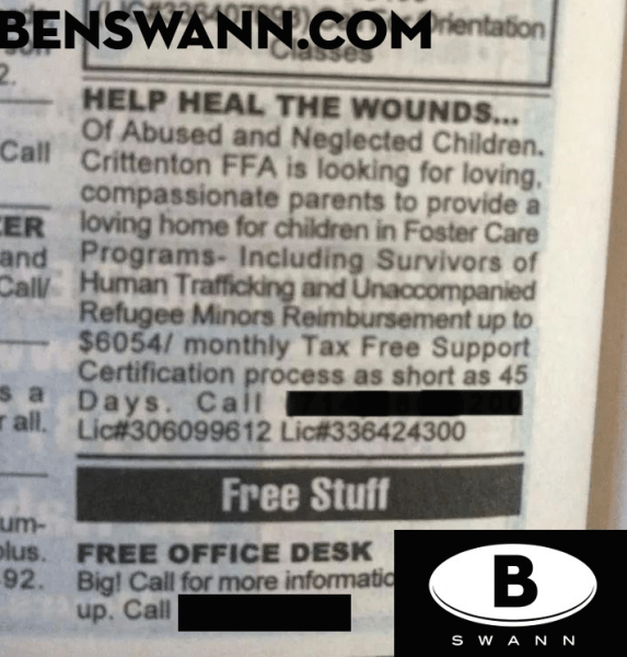 This ad was taken from a previous article by Ben Swann.