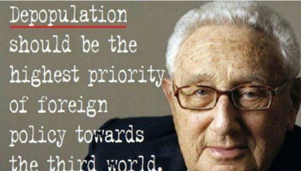 depopulation kissinger