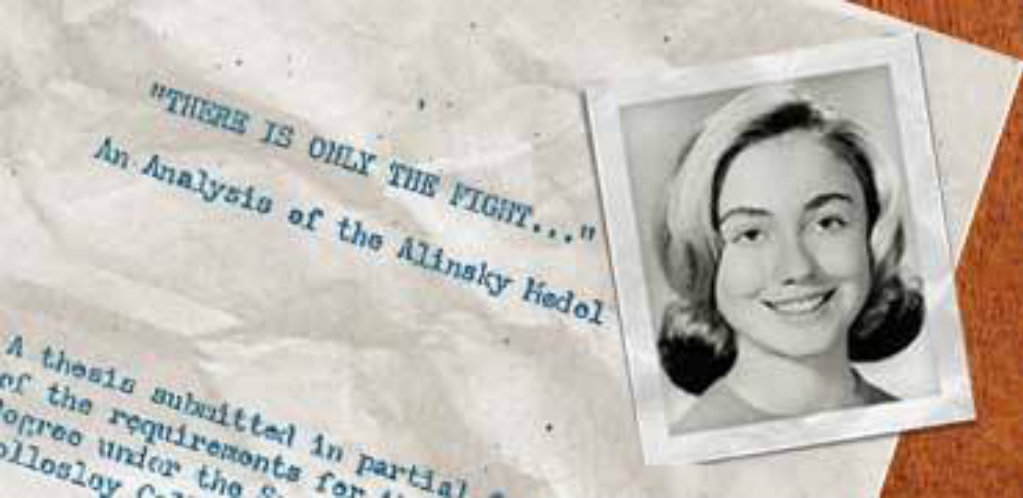 clinton alinsky thesis Watch video  hillary clinton mentor saul alinsky explored in wrote a 92-page thesis on alinsky and see the clip of alinsky meeting clinton for the first.