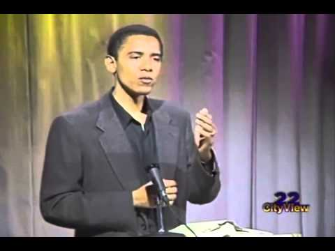 1995 Obama talks about Frank Marshall Davis