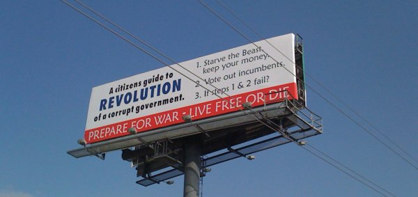 revolution billboard