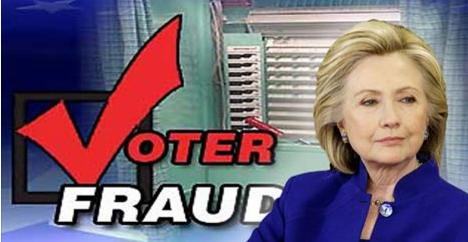 hillary voter fraud