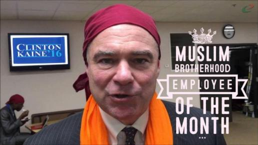 Just How Cozy is Hillary's VP Pick Tim Kaine with Islamists