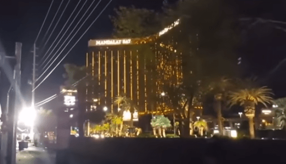 MUST SEE FOOTAGE: Muzzle Flashes Seen Coming from Helicopter During Las Vegas Massacre