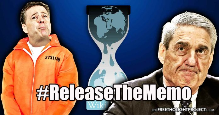 WikiLeaks Offers $1 Million Reward for 'Explosive' FISA Memo That Will 'Put People in Jail'