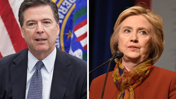 "Bombshell: Comey says there were ""hundreds of thousands"" of Hillary emails on perv Anthony Weiner's laptop, but watchdog group was told only ""72,000"" existed"