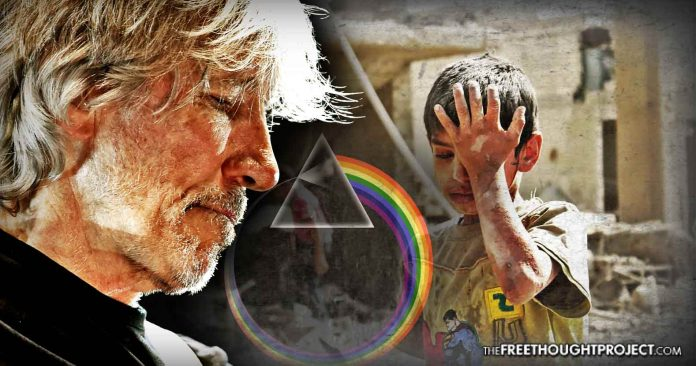 WATCH: Pink Floyd Frontman Stops Concert To Explain False Flag Chemical Attack in Syria