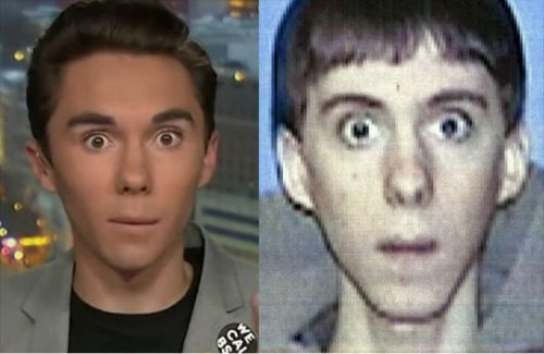 Separated at Birth: David Hogg and Adam Lanza