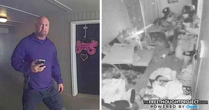 Man Catches Cops on Video Framing Him To Justify Blowing Up His Door and Raiding Home