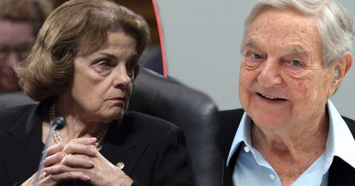 Senator Dianne Feinstein's Ties To George Soros Organizations