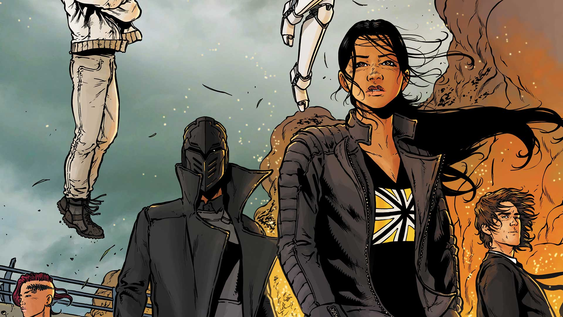 Image result for the wild storm #22 preview