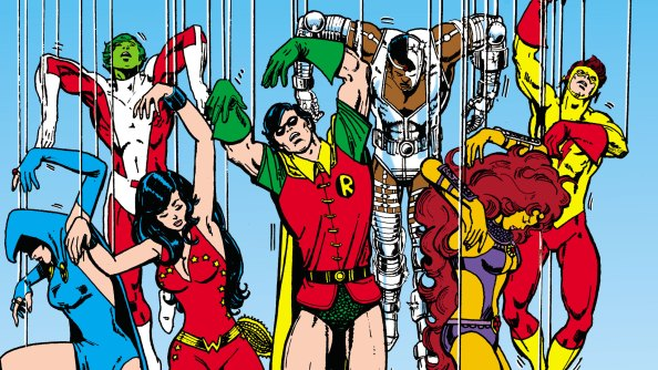 Image result for teen titans george perez