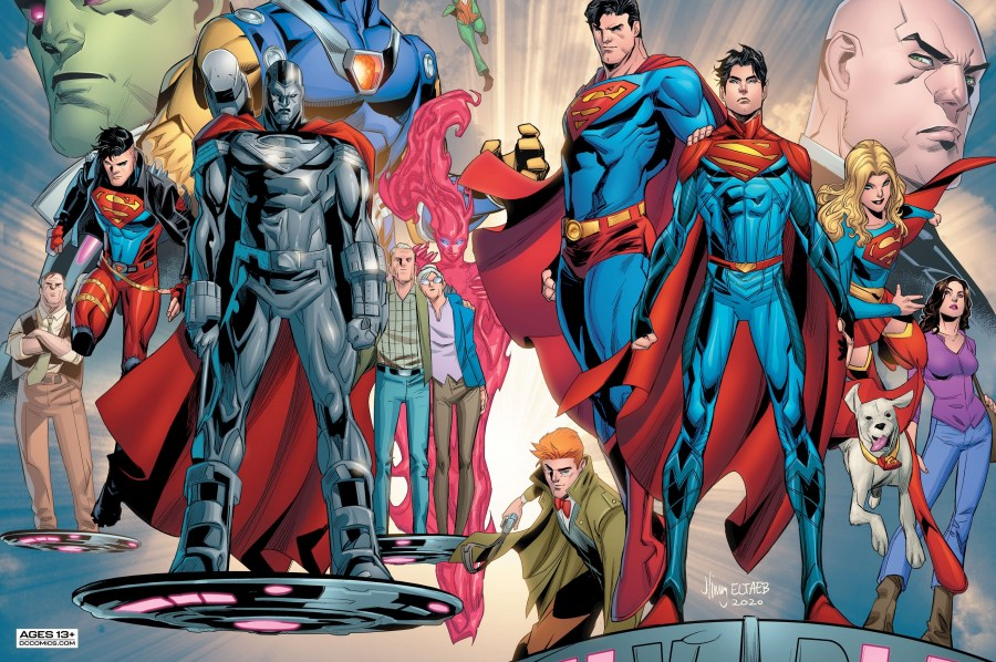 First Look: Superman's New Creative Team Makes Their Debut | DC