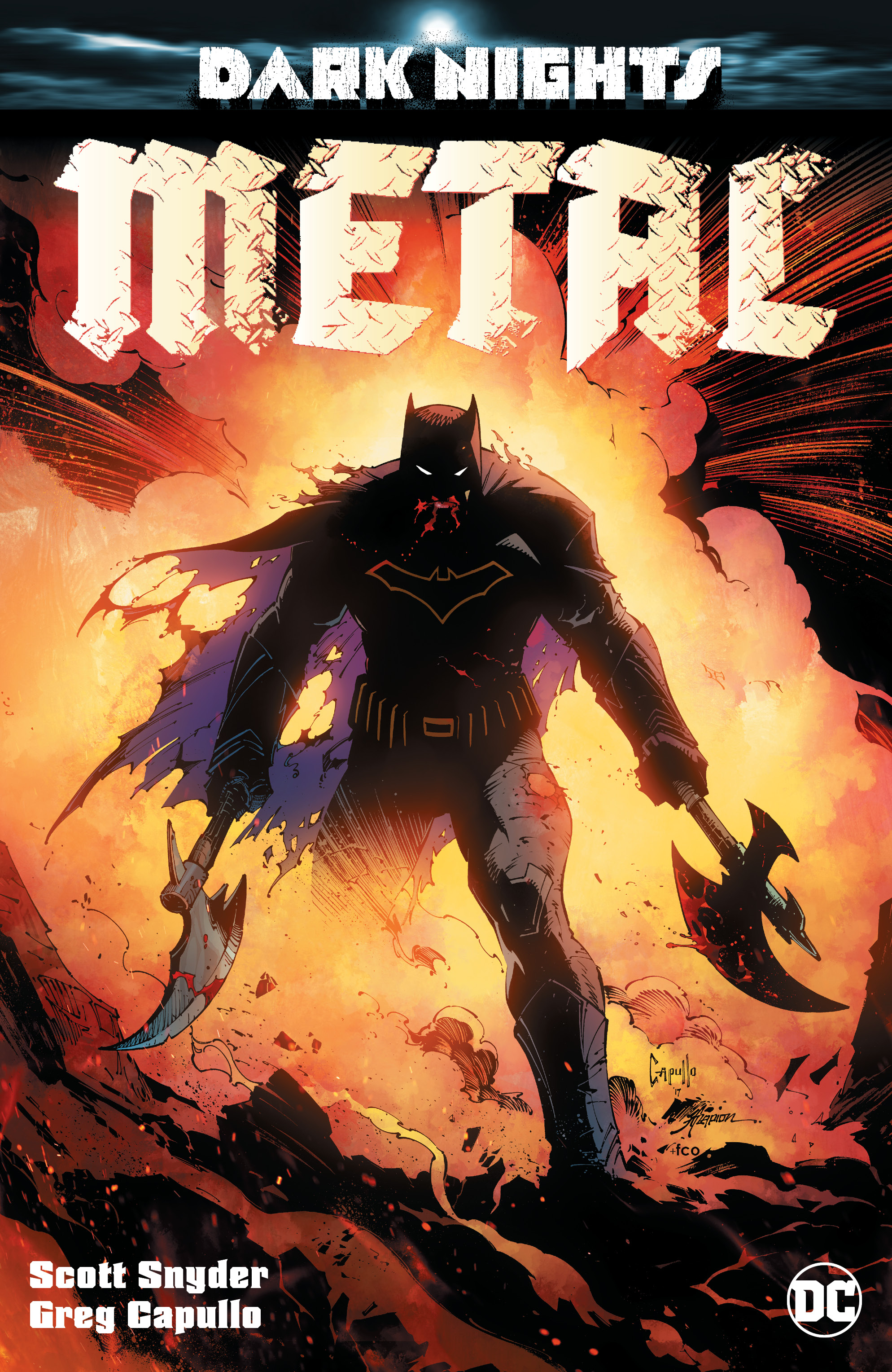 Image result for dark nights metal