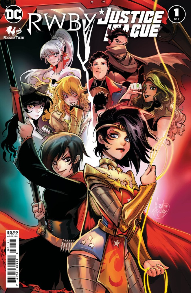 RWBYJL_Cv1_6001cfb27a5813.12606603 The Justice League and Team RWBY Join Forces in an Exciting New Series!   DC Comics