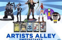 Time to Enter This All-New Sweepstakes from DC Collectibles!