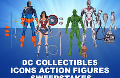 Enter For Your Chance to Win These DC Icons Action Figures!