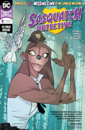 Image result for sasquatch detective 1 cover