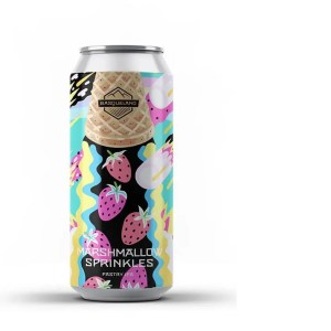 Basqueland Marshmallow Sprinkles 6% 44cl