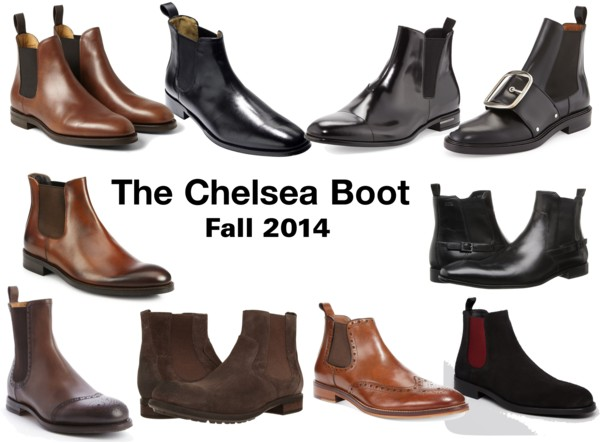 The Chelsea Boot - Fall 2014
