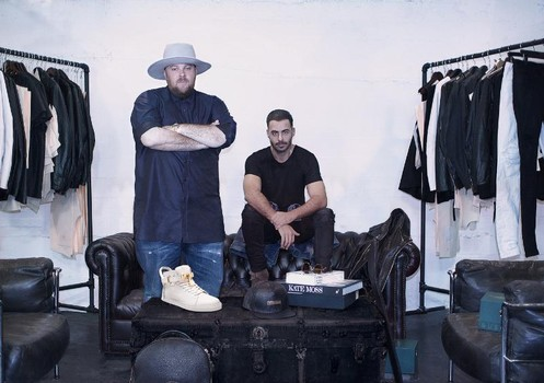 Mike Amiri with Jon Buscemi is the new head designer at Buscemi